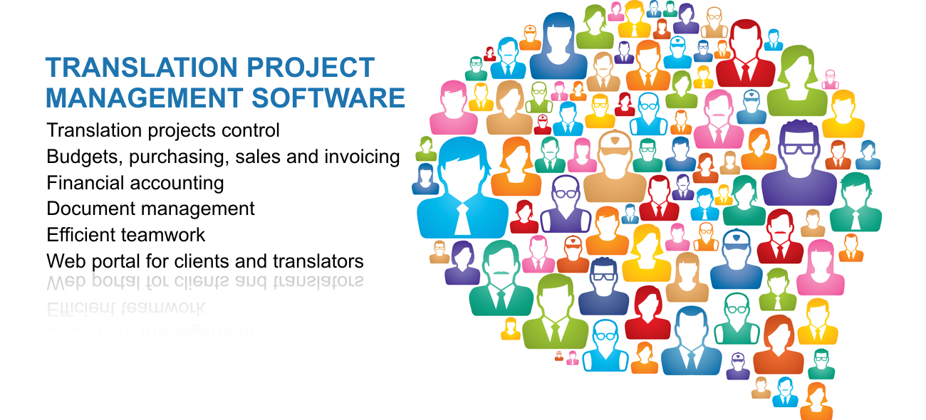 Translation project management software