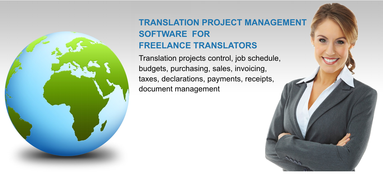 Translation management software for freelance translators